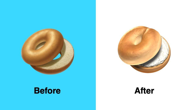 apple-bagel-emoji-before-after-emojipedia